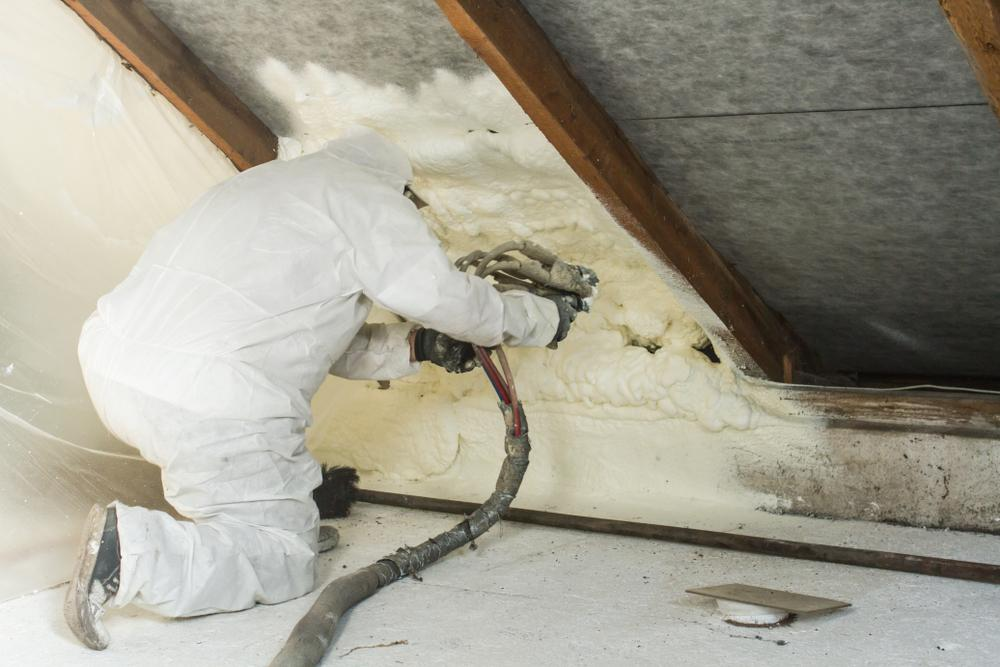 Keep your NY home comfortable year-round with Spray Foam Insulation by Fred F. Collis and Sons