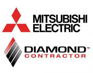 mitsubishi electric diamond logo